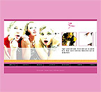 Website Shopping Cart Templates - Fashion - t-0107