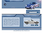 Website Shopping Cart Templates - Cars - t-0120