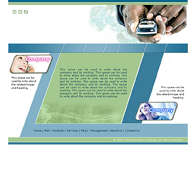 Website Shopping Cart Templates - Electronics - t-0175