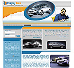 Website Shopping Cart Templates - Cars - t-0196